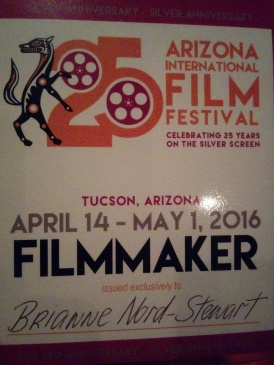 AZIFF2016 filmmaker badge