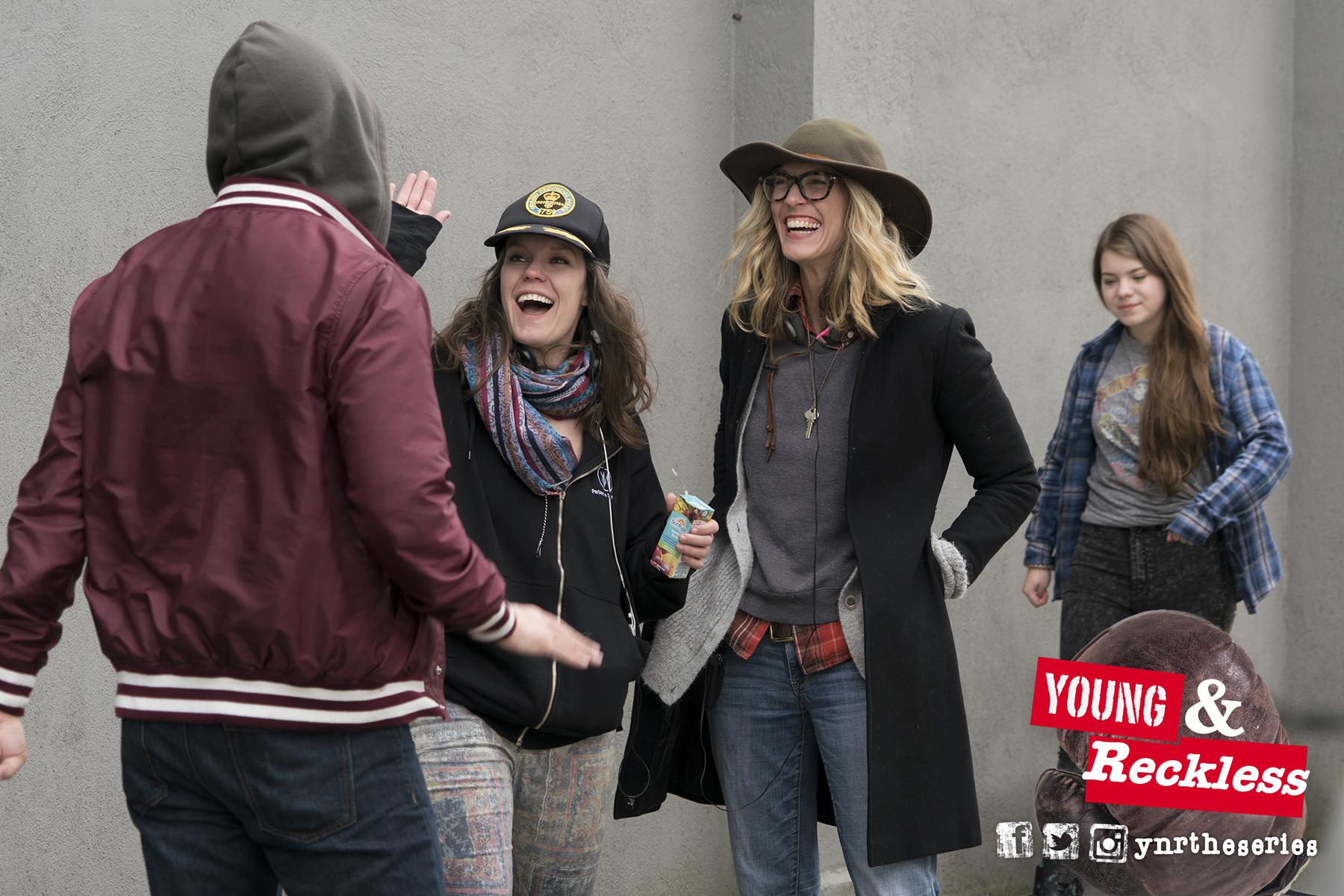 L to R: Devon, Brianne, Andrea, Sierra (as OLIVIA)