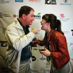 hollyweb fest out with dad, best canadian story, best comedy series