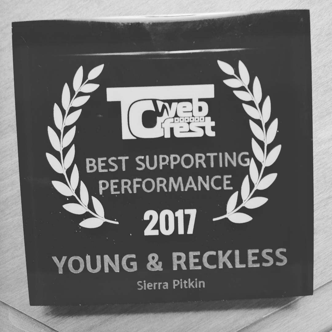 T.O Webfest 2017 best supporting performance sierra pitkin